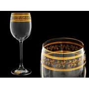 Бокал для вина Эсприт, Орнамент золотой
