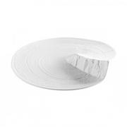 Тарелка для презентаций «Арбре» D=28см; белый, матовый