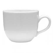 Чашка кофейная «Дорота», фарфор, 110мл, D=60,H=55,B=85мм, белый