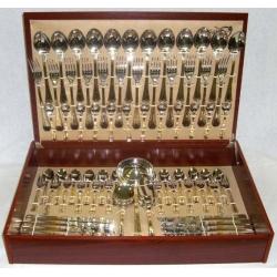 Набор столовых приборов «Malmaison Gold» 75 предметов на 12 персон