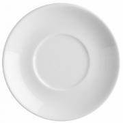 Блюдце для бульон.чашки «Прага», фарфор, D=170,H=25мм, белый