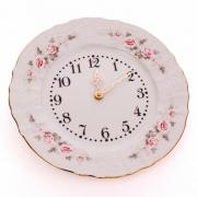 Часы настенные 27 см. «Роза серая 5396011»