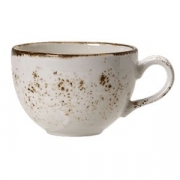 Чашка чайная «Крафт», фарфор, 340мл, белый