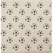 Бумага для подачи «Футбольный мяч» [1000шт] L=30.5, B=30.5см; бежев.