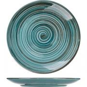 Тарелка мелкая «Скандинавия» D=23, H=3см; голуб.