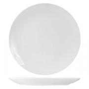 Тарелка мелкая б/борта «Кунстверк», фарфор, D=16см, белый