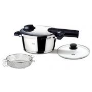 Cкороварка-сковорода «витавит комфорт» (vitavit сomfort) Fissler Vitavit Comfort ø26см (4,0л.) с паровой вставкой