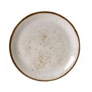 Тарелка мелкая «Крафт», фарфор, D=30см, белый