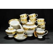 Сервиз для чая Greca Oro на 12 персон