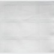 Скатерть жакк. 155х150см х/б белая