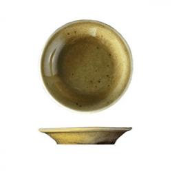Тарелочка для масла «Кантри Стайл», фарфор, D=8,H=1см, зелен.
