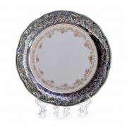 Набор тарелок «Лист зеленый» 24 см. 6 шт.