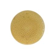 Тарелка обеденная (жёлтая) Ambiente без инд.упаковки