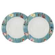 Набор из 2-х суповых тарелок Фантазия