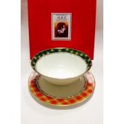 Набор из двух предметов: Тарелка + салатник «Алиса»
