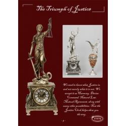 Часы «Триумф Правосудия» комбинированные 51х17.