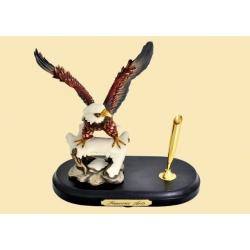 Подставка для ручки «Охотничий сокол»