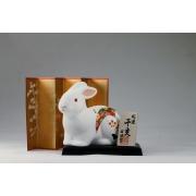 Фигурка фарфоровая 9 см Кролик