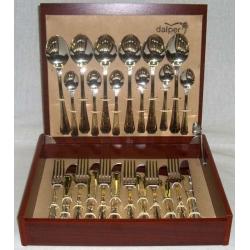 Набор столовых приборов «Malmaison Gold» 24 предмета на 6 персон