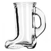 Стопка «Сапог», стекло, 44мл, H=79мм, прозр.