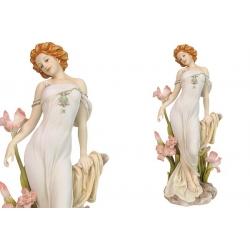 Статуэтка «Девушка с орхидеями» 27 см