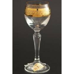Рюмка для ликера 060 мл «Люция» панто+широкое золото по всему декору