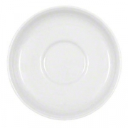 Блюдце «Бонн», фарфор, D=11.3см, белый