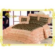 Покрывало Ария Сатин с декор. подушкой SALVATORE 250х260