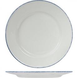Тарелка мелк «Блю дэппл» d=30см фарфор