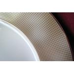 Набор тарелок на 6 персон, 18 предметов. «Золотой песок»
