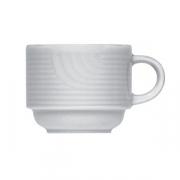 Чашка кофейная «Карат», фарфор, 50мл, D=6,H=5,L=8см, белый