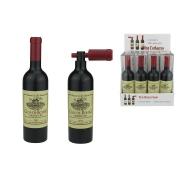 Бутылка-штопор с красной пробкой