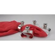 Кольцо для салфеток 4 шт Корона