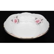 Набор салатников 13 см. 6 шт «Роза серая 5396011»