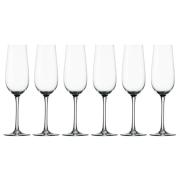 Набор: 6 бокалов для шампанского