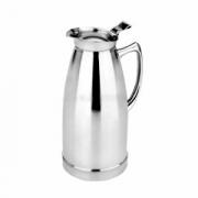 Кофейник «Санекс», сталь нерж., 1л, H=23.3,L=14.5,B=10.5см, серебрян.