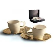 Чайный набор на 2 персоны «Ричоло» (золото)