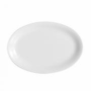 Блюдо овальное «Эмбасси вайт», фарфор, L=28см