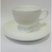 Набор чашек для кофе на 2 персоны «Ажур»