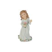Статуэтка Подружка невесты с букетом (c розовым бантом, с розовым букетом)