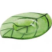 Подсвечник «Лиф» 12*8.5см зеленый