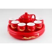 Подарочный набор для чая (красный)