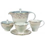 Сервиз чайный 17пр. на 6 персон «Голден Глоу»