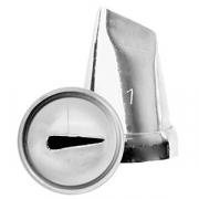 Насадка кондит. «Крупный лепесток», сталь нерж., D=22,H=30мм, металлич.