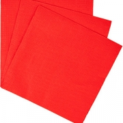 Салфетки «Папирус» 33*33см [300шт] H=12, L=33, B=16.5см; красный