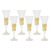 Набор: 6 бокалов для шампанского Ломбардия