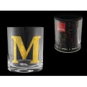 Стакан для виски (1 шт) Азбука Буква «M»