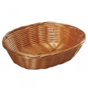 Корзина плетен.для хлеба овал. 24*20*6см