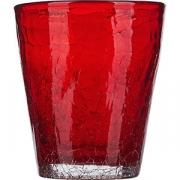 Стакан «Колорс» стекло; 310мл; красный