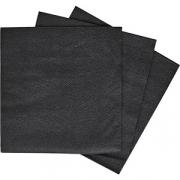 Салфетки 1-слойн.33*33см сжатые «Папирус» [300шт] черный